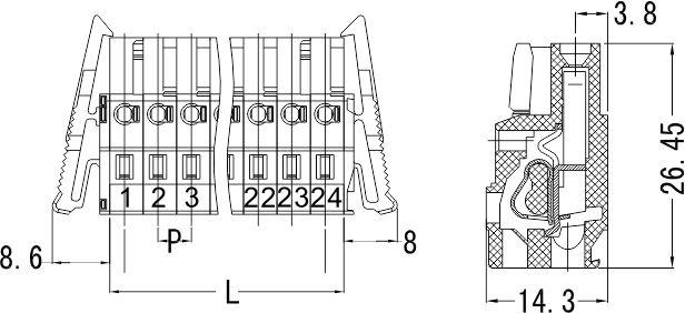 PTB800B-08-M-S